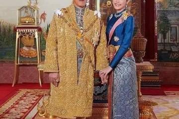 泰国王后打败诗妮娜贵妃又怎么泰王带着20个妃子去了德国太牛
