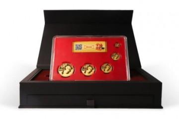 盛世黄金 熊猫金币高考季礼盒(限定版)发售